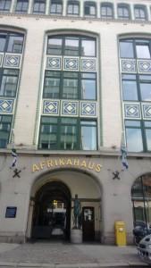 Hamburg Altstadt Afrikahaus