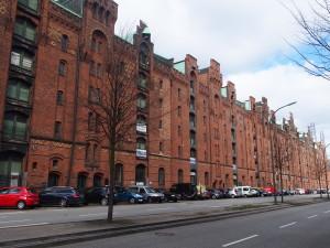 Hamburg Altstadt Speicherstadt Am Sandtorkai