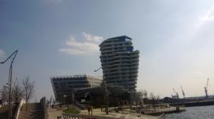 Hamburg HafenCity Unilever und Marco Polo Tower