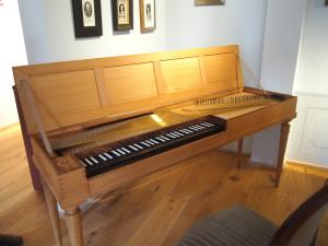 Hamburg Neustadt Komponistenquartier Clavichord