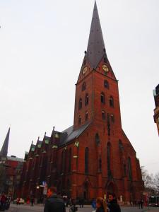Hamburg Altstadt St. Petri Westansicht