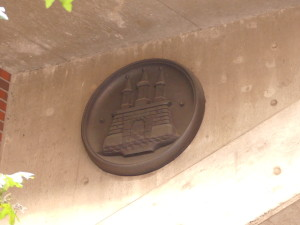 Altonaer Wappen an der Kersten-Miles-Brücke