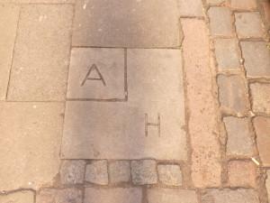 Grenzstein zwischen Altona und Hamburg