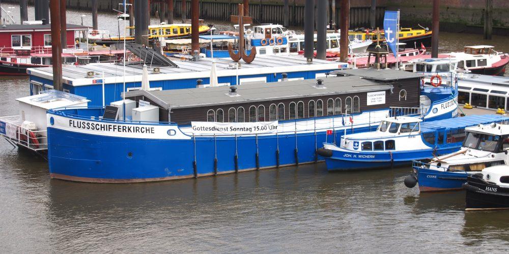 Fortbildungsdoppelpack – Haus der Patriotischen Gesellschaft und Flussschifferkirche