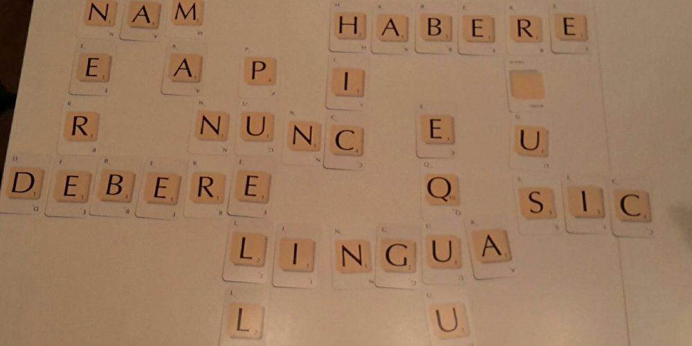 Spaßiger vorweihnachtlicher Lateinunterricht