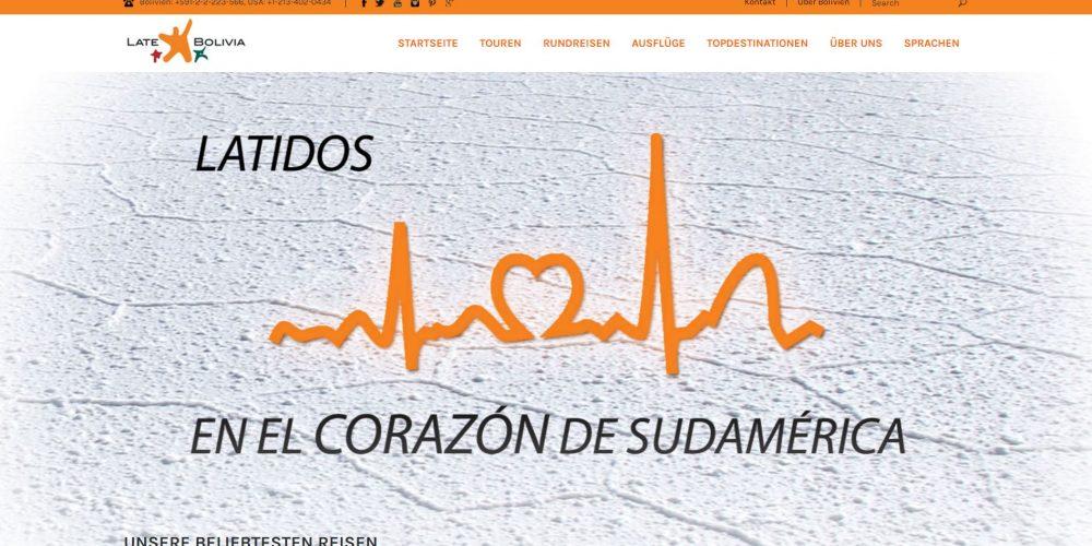 Mi traducción de la página web de Travel Tours Bolivia en línea