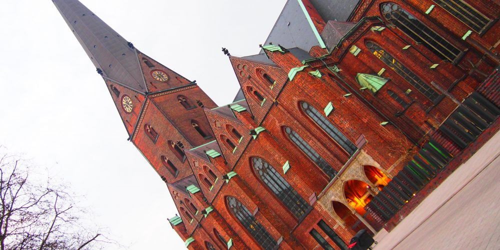 Whitsun in Hamburg's main church St. Petri