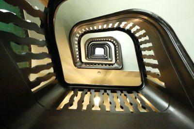 Treppenhaus im Wrangelhaus