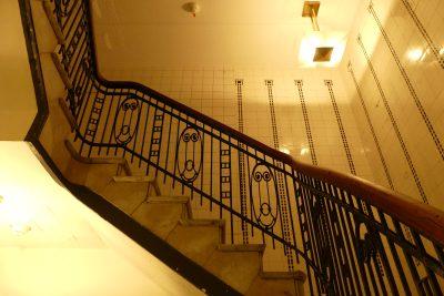 Treppenhaus im Hübner-Haus