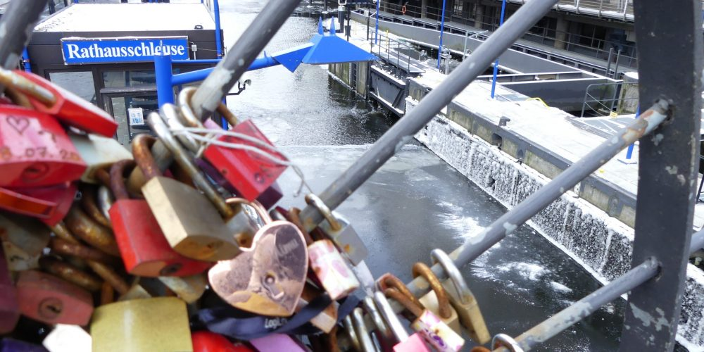 Hamburg locks 2 – The Town Hall Lock