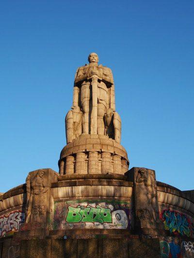 Hamburg St. Pauli Bismarckstatue