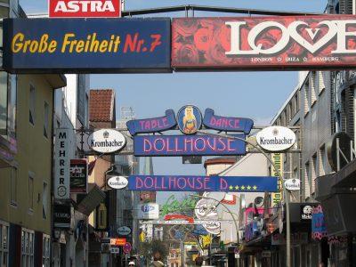 Hamburg St. Pauli Große Freiheit