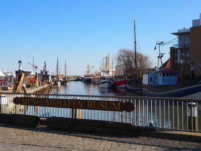 Schleswig-Holstein Büsum Museumshafen