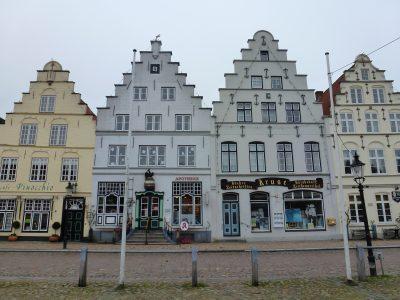 Schleswig-Holstein Friedrichstadt Häuserreihe