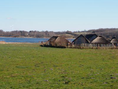 Schleswig-Holstein Haithabu mit Häusern