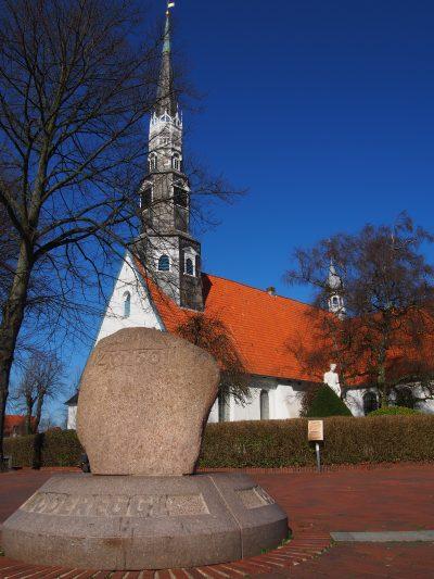 Schleswig-Holstein Heide Kirche St. Jürgen