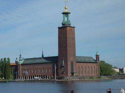 Schweden Stockholm Stadthuset